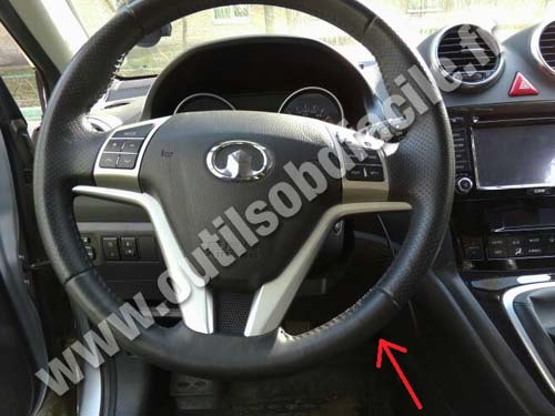 Great Wall Haval H6 Dashboard
