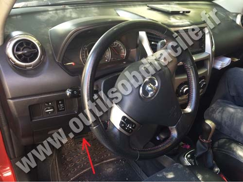 Great Wall Haval M4 dashboard