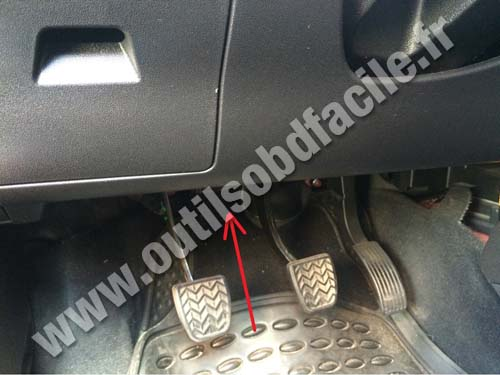 Great Wall Haval M4 pedals