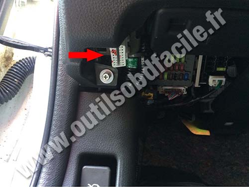 Obd2 Connector Location In Honda Accord 2008 Outils