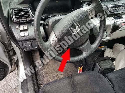 Honda FR-V - Dashboard