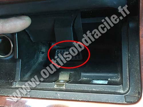 Honda Legend - OBD II plug