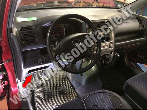 Honda Stream - Dashboard