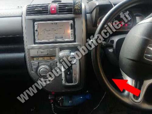 Honda Zest - Dashboard