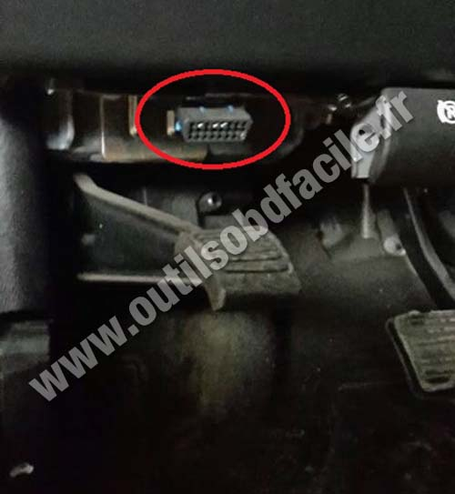Obd2 Connector Location In Hummer H2 2003 2009