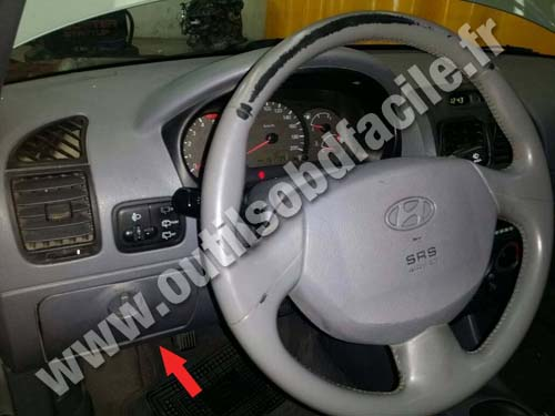 Hyundai Accent - Dashboard