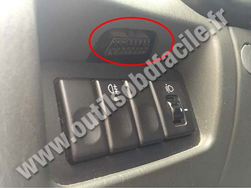 Hyundai Accent OBD Connector