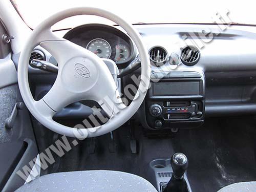 Obd2 Connector Location In Hyundai Atos 1997 2007