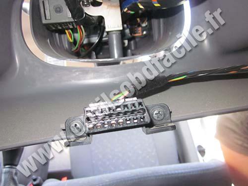 Hyundai Atos OBD2 plug/connector