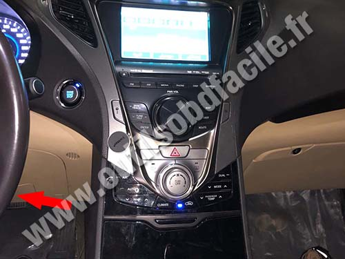 Hyundai Azera - Dashboard