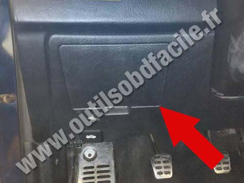 Obd2 Connector Location In Hyundai Coupe 2002 2009