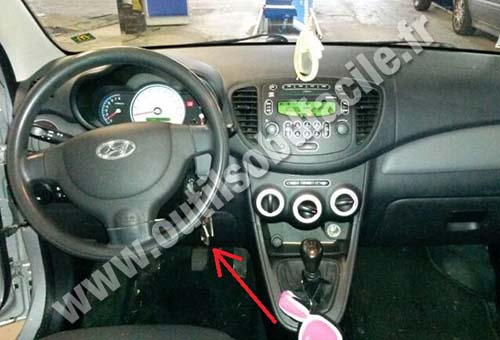 Hyunda I10 dashboard