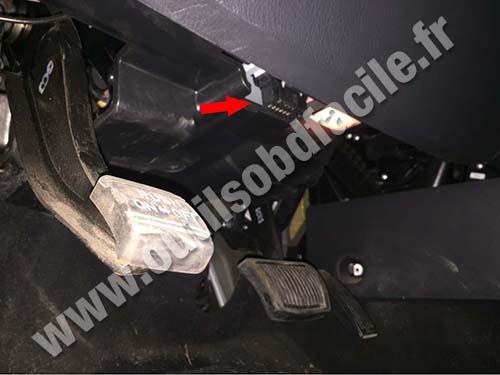 Hyundai IX55 - Pedals