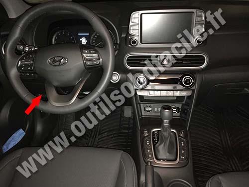 Hyundai Kona - Dashboard