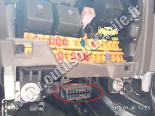 Hyundai Porter - OBD Connector