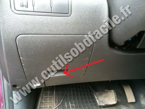Hyundai Solaris fuses box