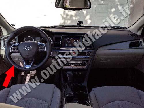 Hyundai Sonata - Dashboard