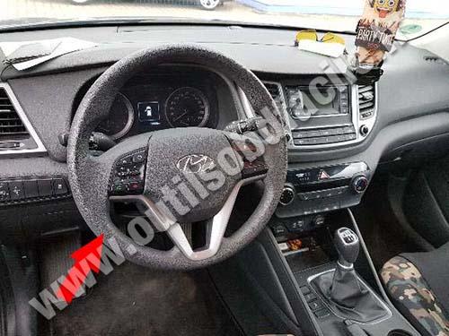 Hyundai Tucson - Dashboard