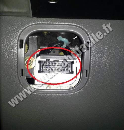 Obd2 Connector Location In Isuzu Trooper 1991 2002