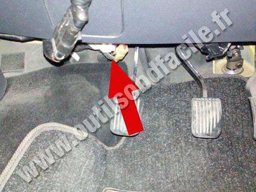 JAC Motor J3 Clutch pedal