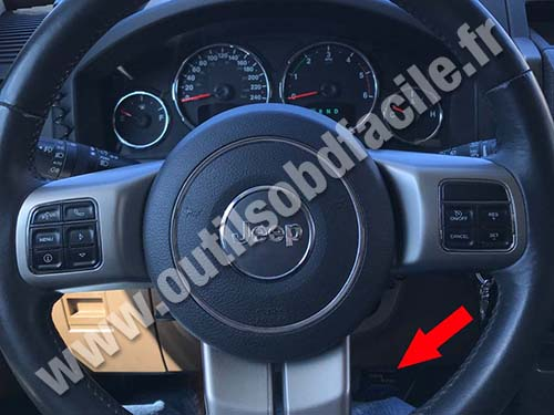 Jeep Cherokee KK - Dashboard