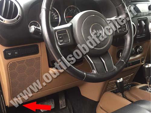 Jeep Wrangler JK - Dashboard