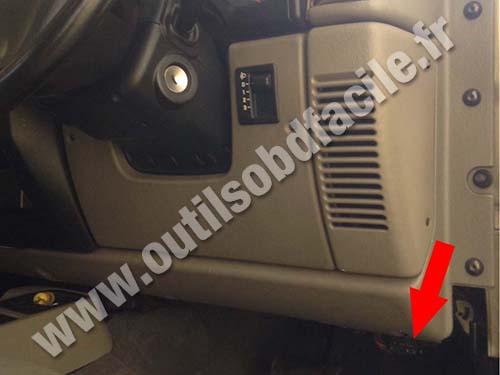 Jeep Wrangler TJ - Driver side