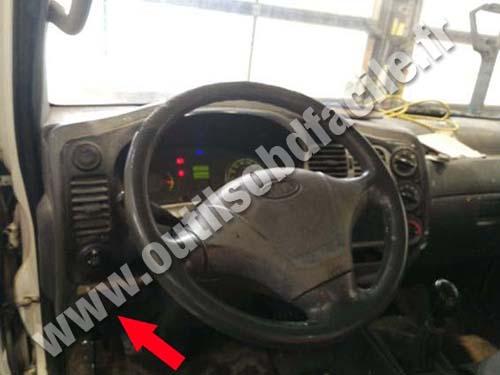Kia K2500 - Dashboard