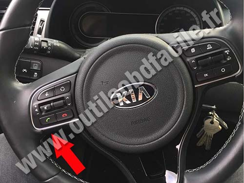 Kia Niro - Steering wheel