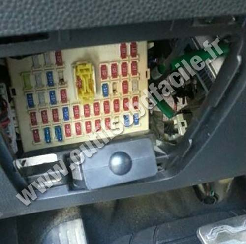 Obd2 Connector Location In Kia Picanto 2011 2014
