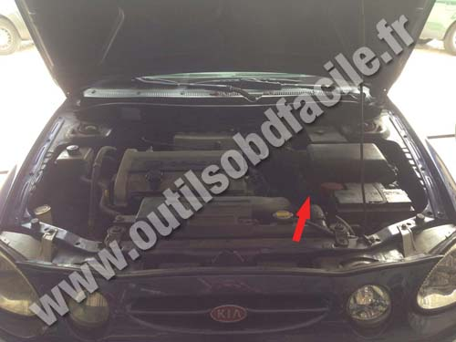Kia Shuma - Under the hood