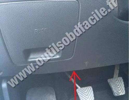 Kia Sportage pedals