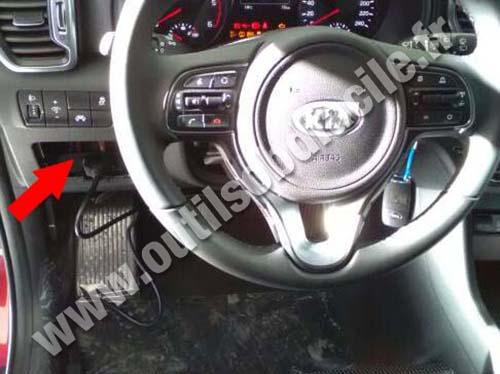 Kia Sportage - Dashboard