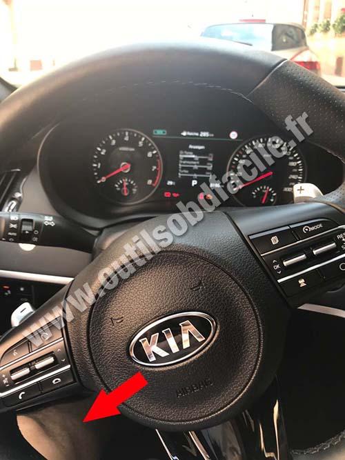 Kia Stinger - Steering wheel