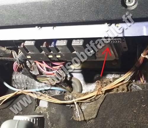 Lada 2107 fuses box