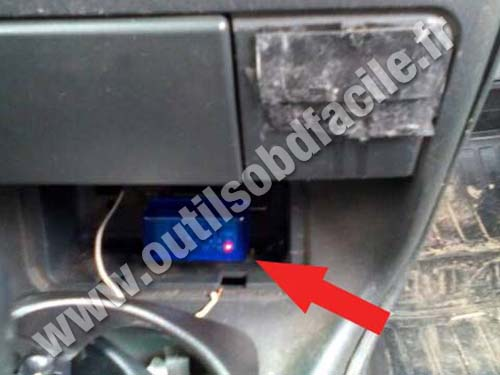 Lada Samara - Shift lever
