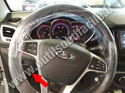 Lada Vesta - Steering wheel