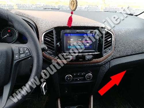 Lada XRAY - Dashboard