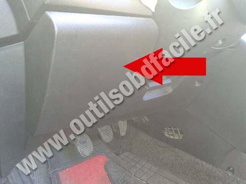 Lancia Ypsilon pedals