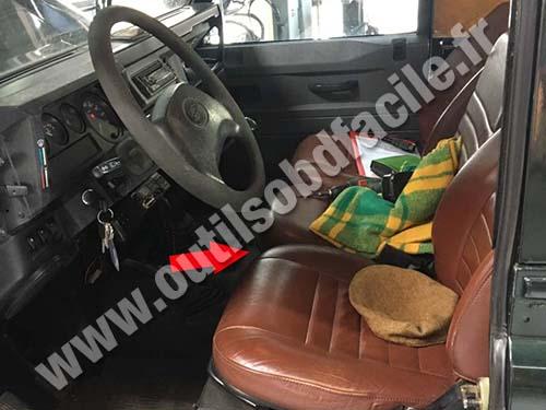 Land Rover Defender - Dashboard