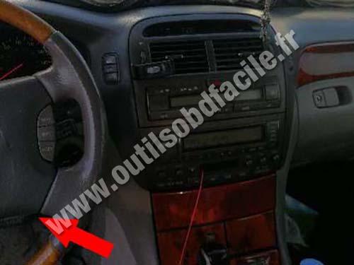 Lexus LS 430 - Dashboard