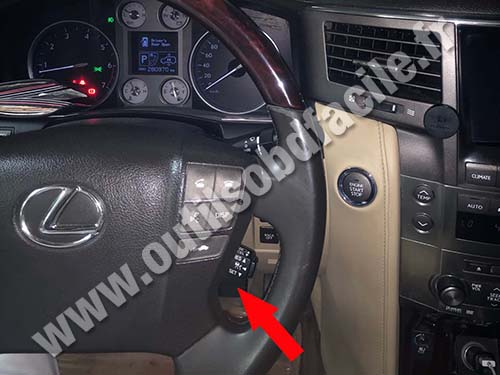 Lexus LX570 - Dashboard