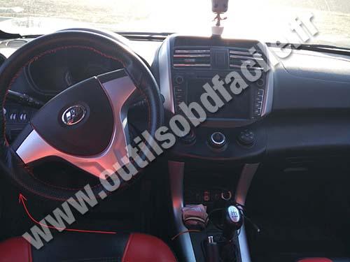 Lifan X60 - Dashboard