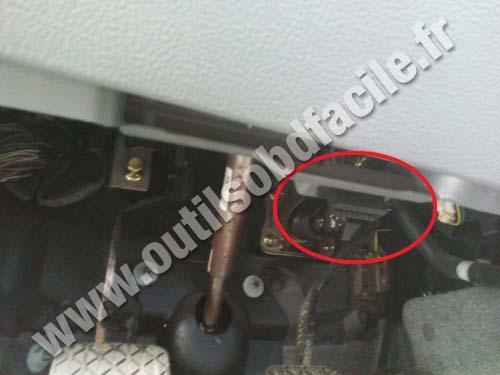 Mazda Port Diagnostic Obd Pedal
