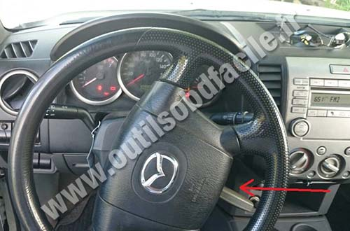 Mazda BT 50 Dashboard