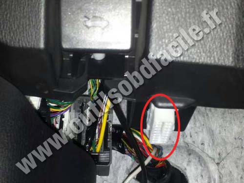 Mazda CX-5 - OBD Connector