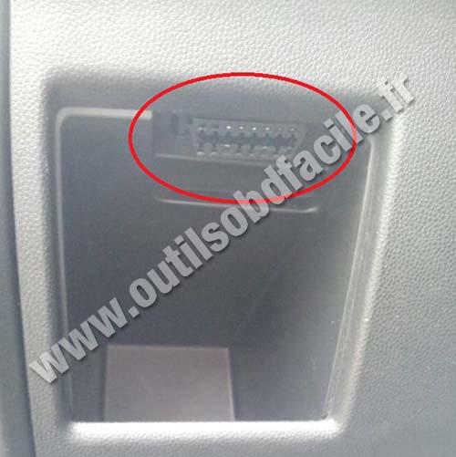Obd2 Connector Location In Mazda 5 2005 2010 Outils Obd Rhoutilsobdfacile: Mazda 5 Obd Port Location At Gmaili.net