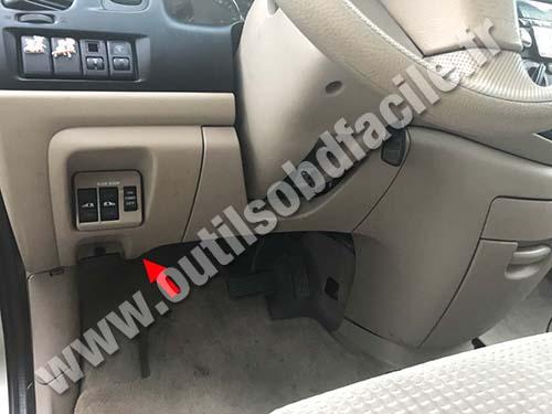 Mazda MPV - Pedals