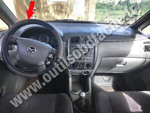 Mazda Premacy - Dashboard