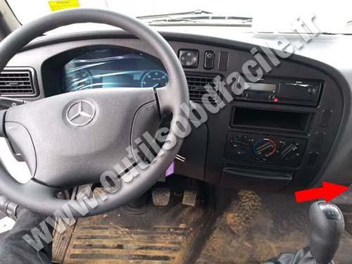Mercedes Accelo - Dashboard